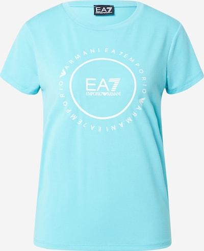 EA7 Emporio Armani Shirt in Azure / White, Item view
