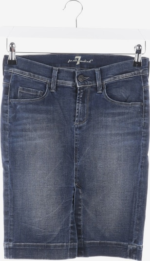 7 for all mankind Rock in XS in blau, Produktansicht