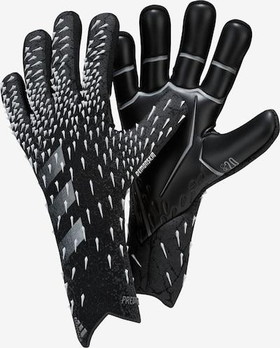 ADIDAS PERFORMANCE Sporthandschuhe in grau / schwarz / weiß, Produktansicht