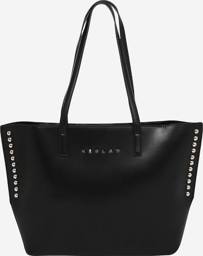 REPLAY Shopper torba u crna, Pregled proizvoda