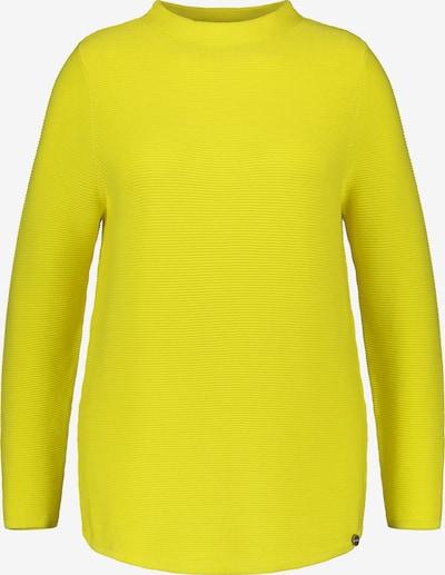 SAMOON Pullover Langarm in gelb, Produktansicht