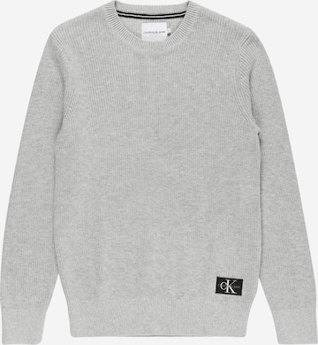 Calvin Klein Jeans Sweater in Grey