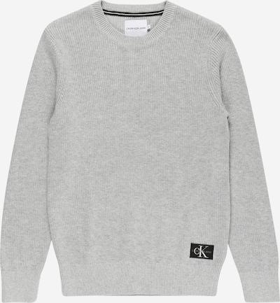 Calvin Klein Jeans Pullover in hellgrau, Produktansicht