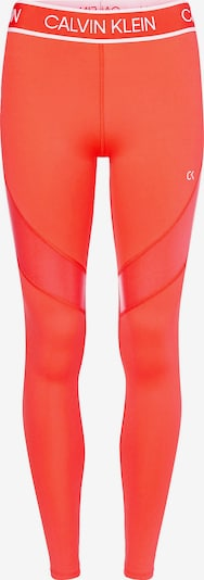 Calvin Klein Performance Sportbroek in de kleur Sinaasappel / Wit, Productweergave