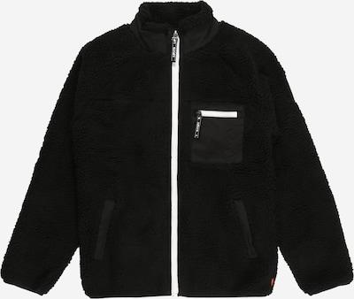 LEVI'S Fleecejacke in schwarz, Produktansicht