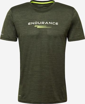 ENDURANCE Funksjonsskjorte 'Portofino' i grønn