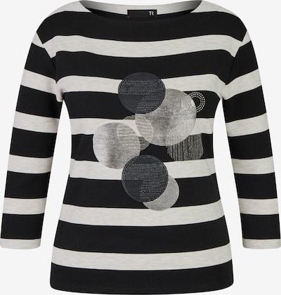 Thomas Rabe Shirt in grün / schwarz / weiß, Produktansicht