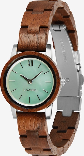 LAiMER Analog Watch 'NINA' in Brown / Mint, Item view
