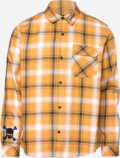 OAKLEY Hemd in gelb / anthrazit / weiß, Produktansicht