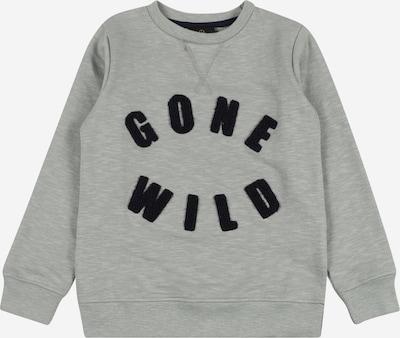 The New Sweatshirt 'TRENTON' in graumeliert / schwarz, Produktansicht