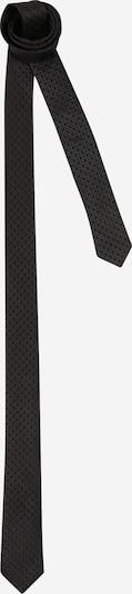 HUGO Cravate en noir, Vue avec produit