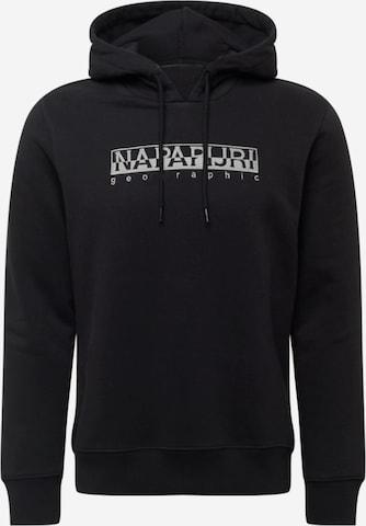 NAPAPIJRI Sweatshirt 'BERBER' in Black
