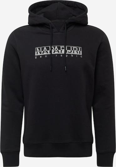 Bluză de molton 'BERBER' NAPAPIJRI pe gri / negru, Vizualizare produs