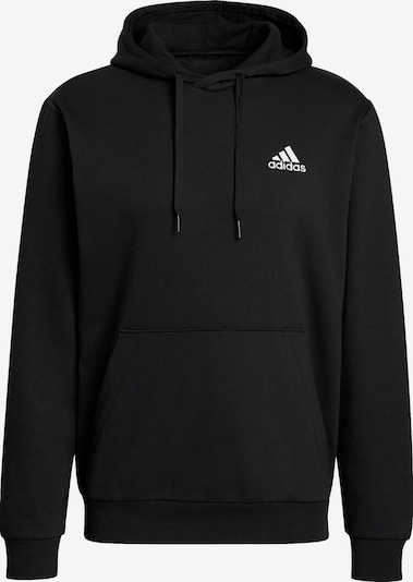 Hanorac sport ADIDAS PERFORMANCE pe negru / alb, Vizualizare produs