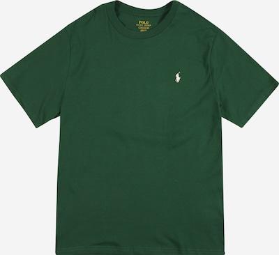 POLO RALPH LAUREN T-Shirt in dunkelgrün / weiß, Produktansicht