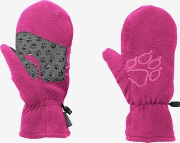JACK WOLFSKIN Handschuhe in Pink