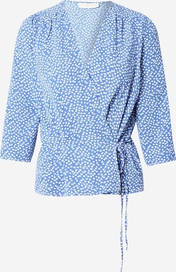 La petite étoile Bluse in blau / weiß, Produktansicht