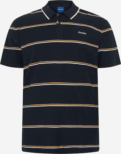 kék / sötétkék / sárga / fehér JACK & JONES Póló, Termék nézet