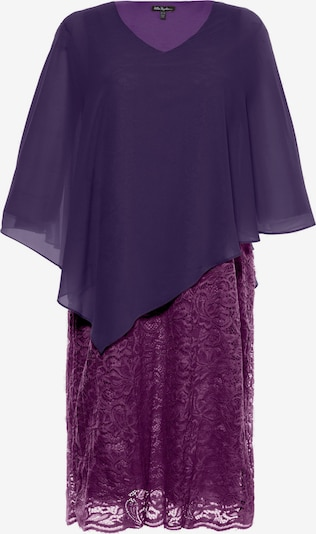 Ulla Popken Koktejlové šaty - bobule / tmavě fialová, Produkt