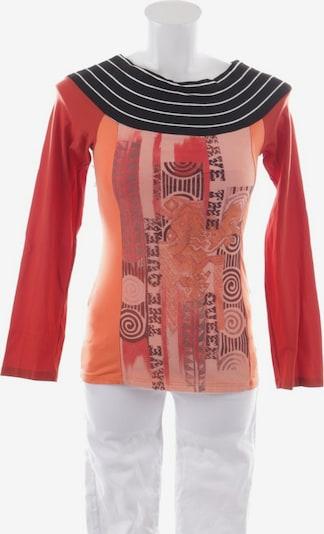 Save the Queen Shirt langarm in M in orangerot, Produktansicht