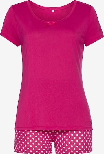 VIVANCE Pyjama in de kleur Pink / Wit, Productweergave