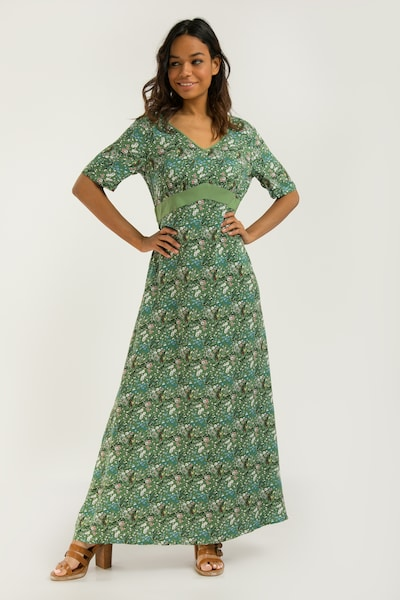 Finn Flare Kleid in grün, Modelansicht