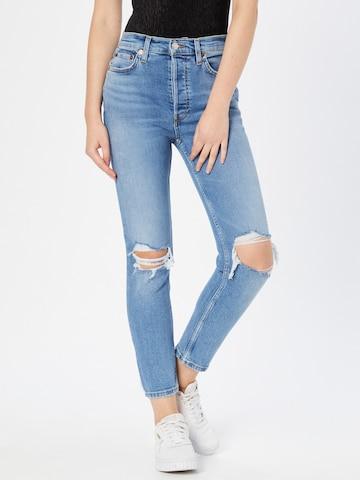 Jeans di RE/DONE in blu