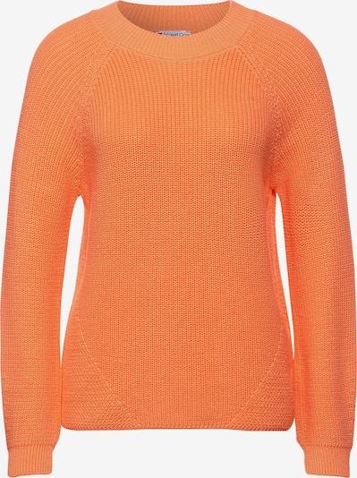 STREET ONE Pullover in orange, Produktansicht