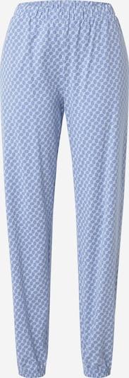 JOOP! Bodywear Pantalon de pyjama en bleu clair / blanc, Vue avec produit