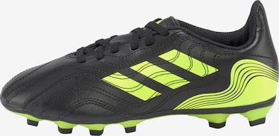 ADIDAS PERFORMANCE Fußballschuh in neongelb / schwarz, Produktansicht