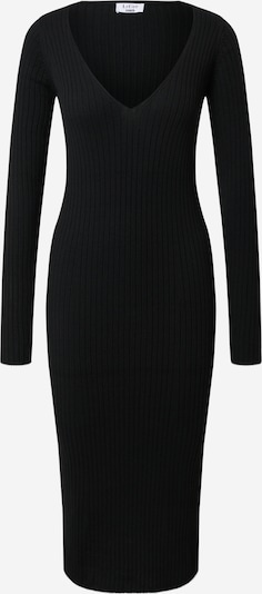 LeGer by Lena Gercke Stickad klänning 'Josefin' i svart, Produktvy