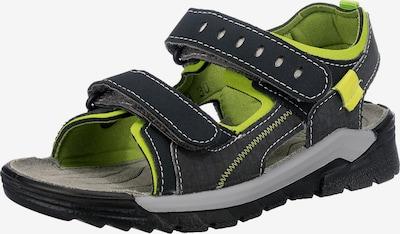 RICOSTA Sandalen 'TAJO' in grau / grün, Produktansicht