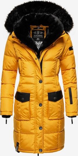 NAVAHOO Winter Coat 'Sinja' in Yellow / Black, Item view