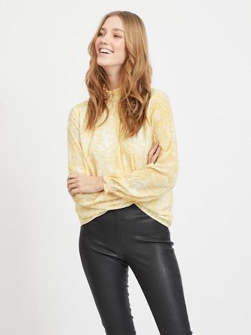 VILA Bluse in Gelb