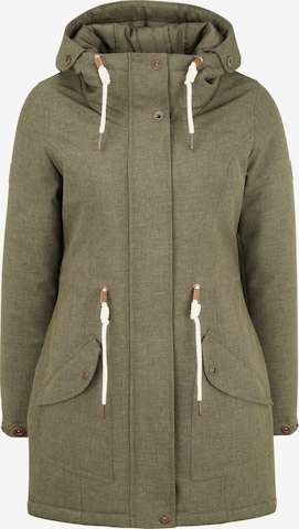 Oxmo Between-Seasons Parka 'Melly' in Green