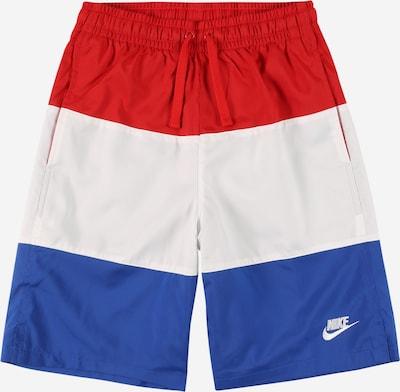 Nike Sportswear Spodnie w kolorze królewski błękit / ognisto-czerwony / białym, Podgląd produktu