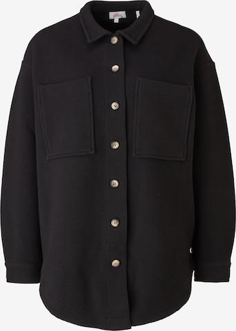 s.Oliver Between-Season Jacket in Black