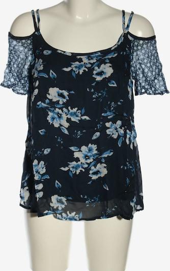 get it on Kurzarm-Bluse in XS in creme / blau, Produktansicht