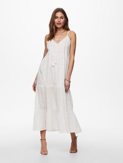 ONLY Kleid 'Lise' in weiß, Modelansicht