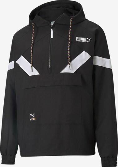 PUMA Tussenjas in de kleur Zwart / Wit, Productweergave