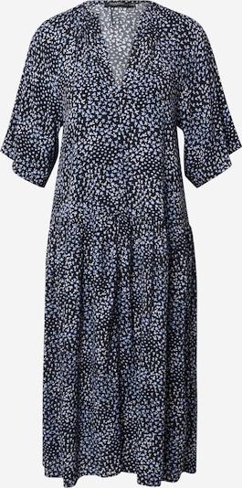 SOAKED IN LUXURY Kleid 'Qarin' in hellblau / schwarz / weiß, Produktansicht