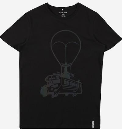 NAME IT T-Shirt in mischfarben / schwarz, Produktansicht