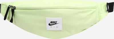 Marsupio 'Heritage' Nike Sportswear di colore kiwi / nero / bianco, Visualizzazione prodotti