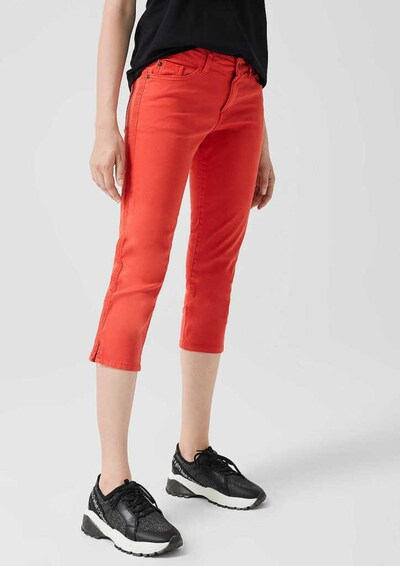 s.Oliver Jeans in de kleur Rood, Modelweergave