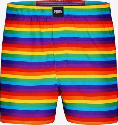 Happy Shorts Boxershorts ' Motive ' in mischfarben, Produktansicht