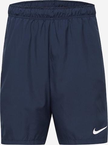 NIKE Sports trousers 'Flex' in Blue
