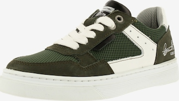 BULLBOXER Sneaker ' AOP004E5L' in Grün