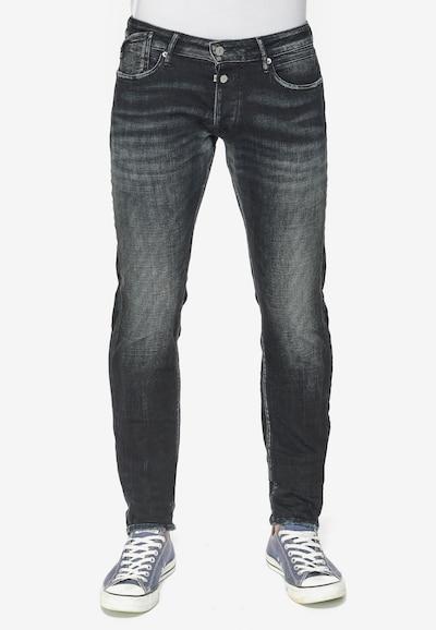 Le Temps Des Cerises Jeans '700/11PS' in blau / schwarz, Modelansicht