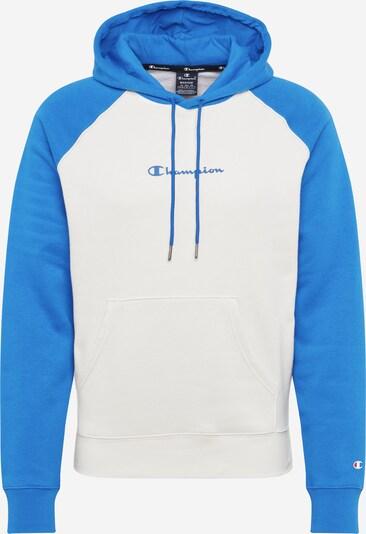 Bluză de molton Champion Authentic Athletic Apparel pe albastru cer / offwhite, Vizualizare produs