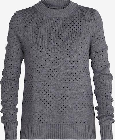 ICEBREAKER Sportovní svetr 'Waypoint' - šedý melír / černá, Produkt